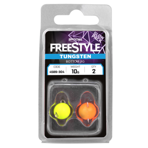 Freestyle tungsten bottom jigs