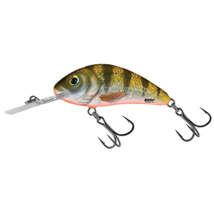 Hornet Yellow Holographic Shad
