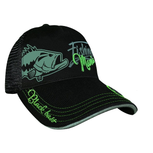 Hot Spot Design Fishing Mania Cap Bass