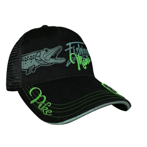 Hot Spot Design Fishing Mania Cap Pike